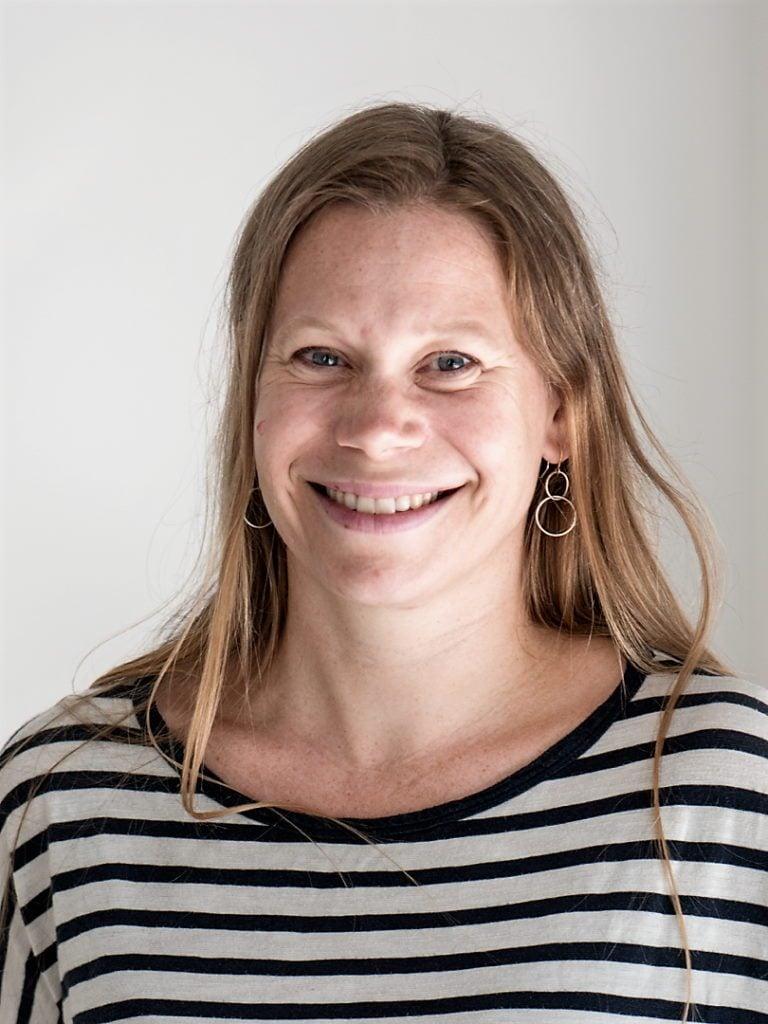 Christina Frausing Binau, portræt