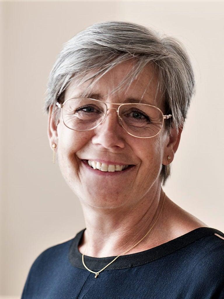 Karin Mortensen, portræt